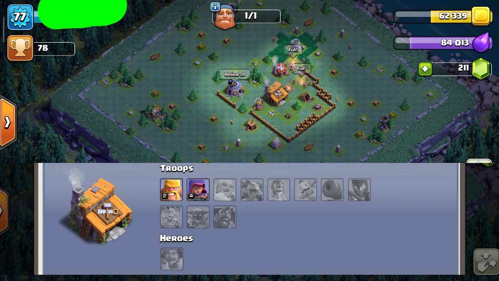 Clash Of Clans Google Play Th9 Builder4 Gems211 Fast Delivery Cheap