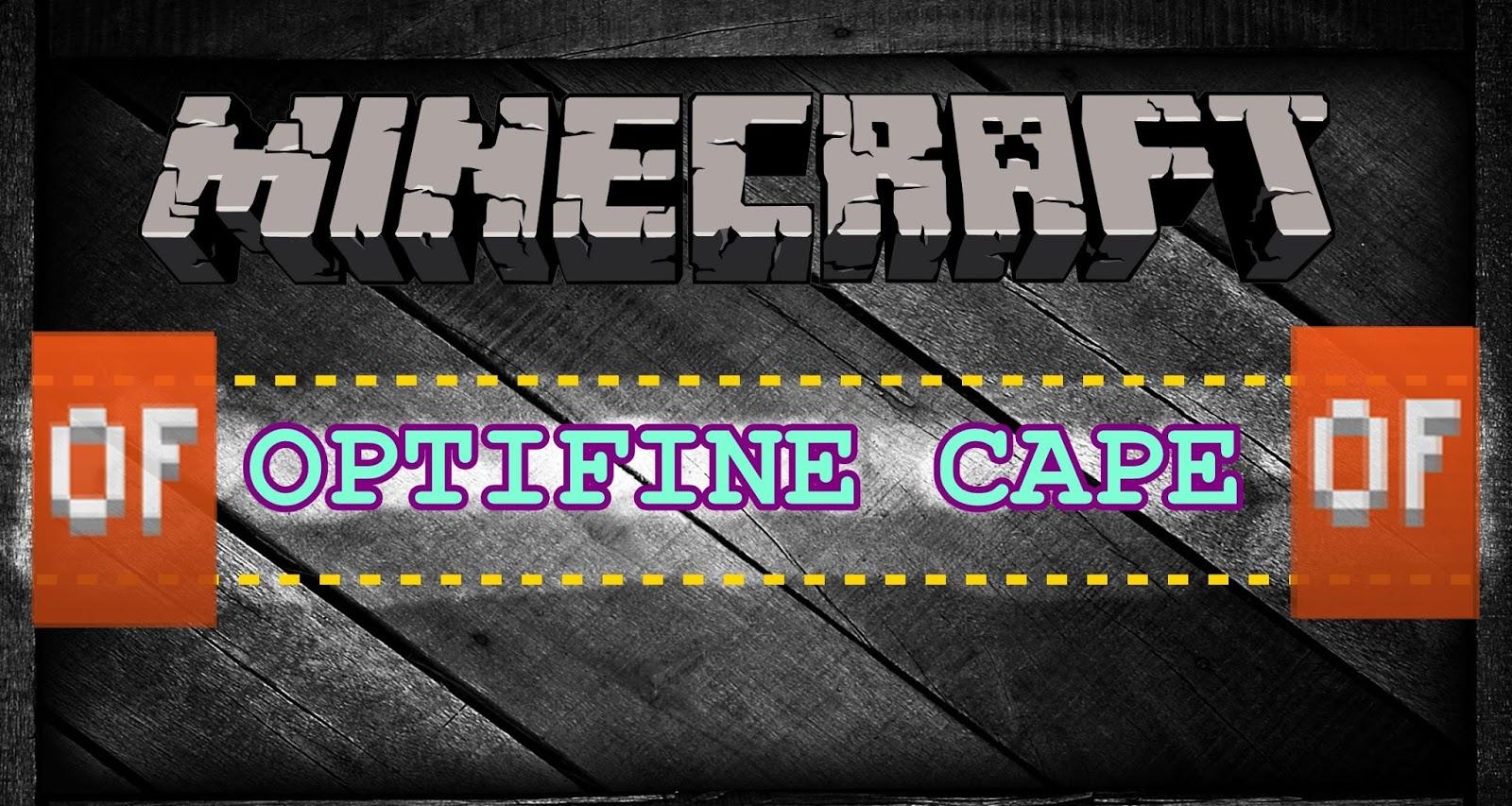 Minecraft Java Edition-Minecraft Premium + OptiFine CAPE