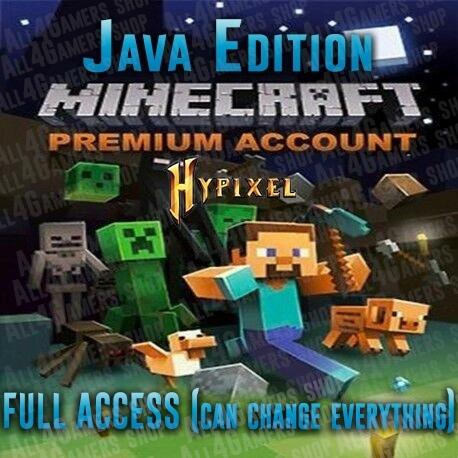 Minecraft Java Edition Premium Java Edition Mc Unused 100 Safe Full Access