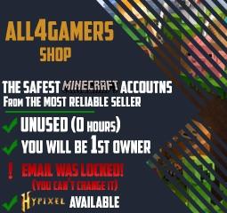 Buy Minecraft Accounts | Buy MC Accounts | Fresh MC Accounts