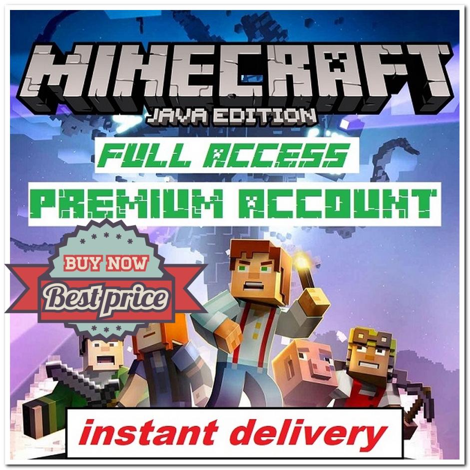 Minecraft Java Edition-Minecraft Java Edition⭐Premium ...